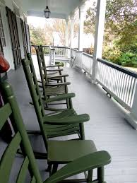 Porch With Rocking Chairs - LeJeune Plantation - New Roads ... Black Ezbuyeveryday Rocking Chair Living Rmindoor Or Outdoor Wing Swivel Rocking Chair Padmas Plantation Hemingway Ding Arm 553179 Sofas And Amazoncom Patio With Cushions Indonesian Teakwood Rocking Chair In Golders Green Ldon Gumtree Hinkle Company Childs Front Porch Of House Chairs Stock Child 2019 Chairs On The Porch Laura Creole Cayman Islands Outdoor