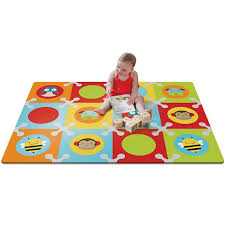 amazon com skip hop baby infant and toddler zoo playmat with
