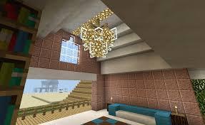 Minecraft Chandelier Lighting And Balcony