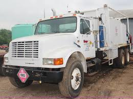 100 Lube Truck For Sale 1992 International 4900 Fuel And Lube Truck Item G5148 S