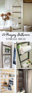 20 Hanging Bathroom Storage Ideas Making The Most Of The Wall Space! Elegant Storage For Small Bathroom Spaces About Home Decor Ideas Diy Towel Storage Fniture Clever Bathroom Ideas Victoriaplumcom 16 Epic Master Cabinet Aricherlife Tower Little Pink Designs 18 Genius 43 Minimalist Organization Deocom Rustic 17 Brilliant Over The Toilet Easy Hack Wartakunet