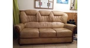 canapé limoges 1 fauteuil cuir et 1 canapé 3 places cuir occasion limoges 87000