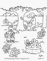 Animals Easter Egg Hunt Free Coloring Page