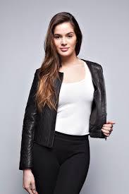 dark red leather jacket women wallpaper hd