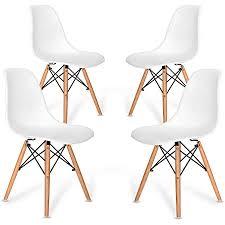 vadim design esszimmerstuhl 4er set weißes licht für ihr
