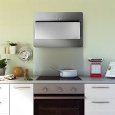 fond de cuisine fond de hotte en inox crédence de cuisine hauteur 45 cm