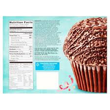 Great Value The Chocolate Cupcake 44 Oz 10 Count