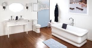 Narrow Bathroom Floor Storage by Lacava