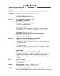 Resume Samples New College Graduates With Sample For Recent Graduate No Experience To