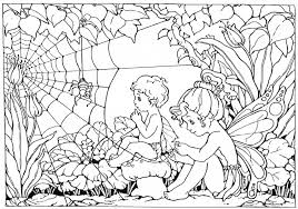 Free Adult Fairy Coloring Pages