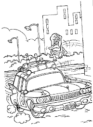 Ray Colouring Pages Ghostbusters Coloring To Download And Print For Free