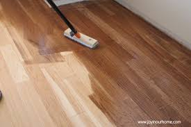 Applying Minwax Polyurethane To Hardwood Floors by Our Journey In Refinishing Hardwood Floors And A 150 Home Goods