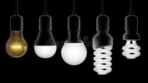different types of light bulbs stock image image 45949539