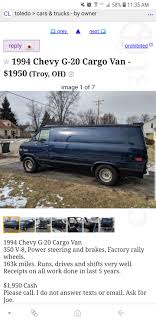 100 Craigslist Toledo Cars And Trucks VandwellerMarketplace Sell Converted Vans