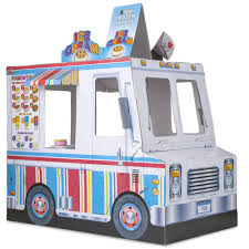 100 Toy Ice Cream Truck Food BBQ Grill Indoor Playhouse Educational S
