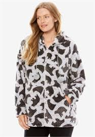 Chenille Bed Jacket by Plus Size Sleepwear Robes U0026 Slippers For Women Woman Within