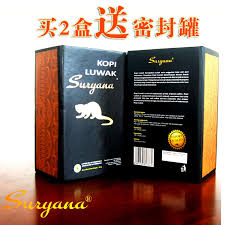 Indonesian Cat Licking Coffee Beans Powder Kopi Luwak Muscat Bali Black Original 100g