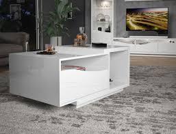 easy möbel wohnzimmer komplett set b patamea 6 teilig farbe weiß hochglanz