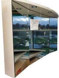 hochwertiger spiegelschrank 140 cm breit pergamon auslaufmodell