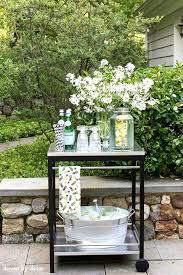 enjoyable outdoor patio cart ideas outdoor serving cart outdoor