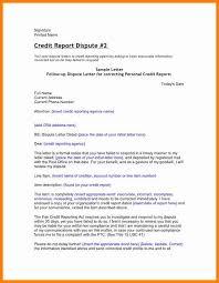 5 credit report dispute letter