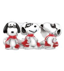 Pandora Halloween Charms Ebay by Persona Sterling Silver The Masked Marvel Snoopy Charm Fits