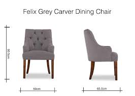 Carver Grey Fabric Dark Leg Dining Chair- Felix - EZ Living Furniture Shop Villa Faux Leather Ding Chairs Set Of 2 On Sale Free Kai Chair Darby Home Co Florinda Wood Leg Upholstered Reviews Fabric Mimi With Arm Timothy Oulton Callisto Table Dark 4 Aletta Grey Ireland George Oliver Kling Wayfair Savoy Brandon Ding Chairs 13500 Furnish Online Designer Timber Rj Living Louis Marble Top With Knoerback