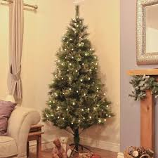7ft Christmas Tree Uk by 7ft Green Artifical Christmas Tree With Gold Glitter Tips 200