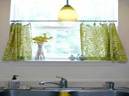 Kitchen Curtain Ideas Above Sink by Kitchen Curtains Sink Custom Window Above Curtain Ideas