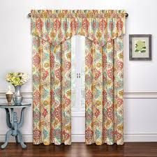 Jacobean Floral Country Curtains by Kings Turban Curtain Panels Walmart Com
