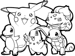 Luxury Pokemon Coloring Pages Printable 83 In Free Colouring With