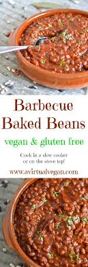 These Thick Sweet Smoky Vegan Slow Cooked Barbecue Baked Beans Need A Little Initial