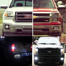 Truck Backup Lights New Amazon 2014 2016 Chevy Chevrolet Silverado ... Automotive Household Truck Trailer Rv Lighting Led Light Bulbs Masculine Backup Lights For Trucks Led Backup Problem With Back Up Led Strobe Kit 2017 Ford F250 And Lights Youtube 2016 Silverado Auxiliary Trucklitesignalstat 24 Diode Clear Rectangular Backup Frontier Gear Diamond Series Full Width Black Rear Hd Eyourlife 20 Tail Bar Dc12v Red Amber White 2012 Lariat 4wd Transndence Amazoncom Krator Hitch Brake Reverse Signal For M998 Hmmwv Marks Tech Journal Looking Suggestion On Enthusiasts