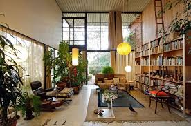 Clifftop House In Pacific Palisades Los Angeles by Happy Birthday George Nelson Eames Cozy Library And Houses