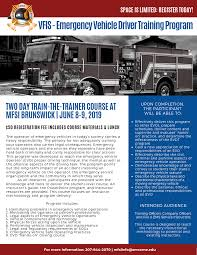 100 Truck Driving Schools In Maine VFIS Emergency Vehicle Driver Training Program Fire