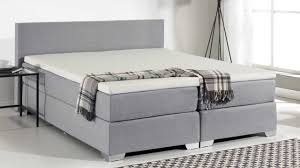 Beliani Box spring bed Upholstered Bed Super King Size