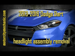 2013 2016 dodge dart headlight assembly replacement not the bulb