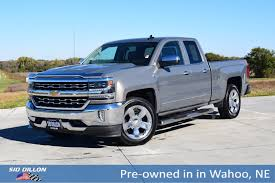 100 Pre Owned Chevy Trucks 2017 Chevrolet Silverado 1500 LTZ Extended Cab In Wahoo