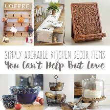 Simply Adorable Kitchen Decor Items You Cant Help But Love