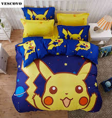 Buy pikachu bed set and free shipping on AliExpress