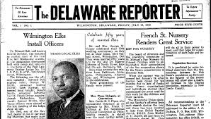 The Delaware Reporter Wilmington July 12 1940 Vol 1