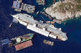 tragic costa concordia cruise liner which capsized killing 32