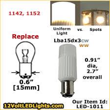 1076 led 1152 led lba15d30cd lba15d30ww 12 volt led bulb