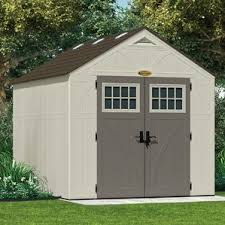Rubbermaid 7x7 Gable Storage Shed by Storage Sheds
