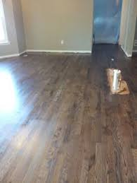 Custom Color Stained Maple Refinished Wood Floor