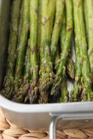 cuisine asperge asperges vertes rôties au four la cuisine d et
