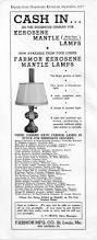 Aladdin Mantle Lamp Model 12 by Farmor Sears Mantle Lamps