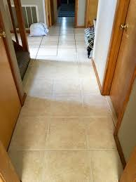 remodelaholic how to dye grout and refresh a dated tile floor