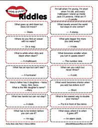 Halloween Riddles Adults by Clever Riddles For Kids With Answers Printable Riddles