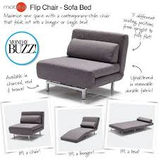 Flip Chair Convertible Sleeper by Fantastic Chair Sofa Bed With Sleeper Sofas Chair Beds Ikea